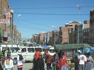 Im Stadtteil El Alto