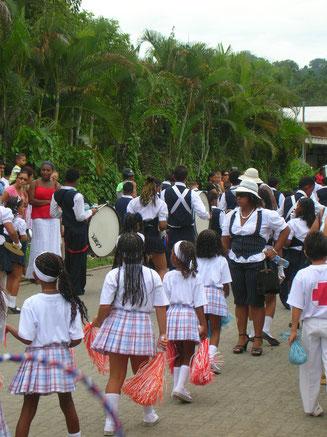 Festumzug im Stil der Karibik
