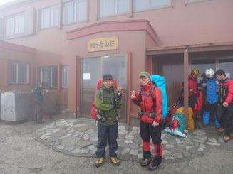 初めての槍ヶ岳はツラく寒かった…