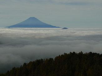 1800mを越えると富士山も良く見えます