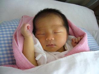 新潟市江南区横越 赤ちゃん