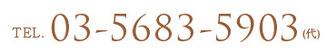 TEL.03-5683-5903