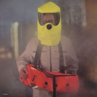 Atemschutzgeräte für Flucht und Selbstrettung