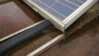 Leitungsverlegung in stehendem Wasser -> keine Zulassung durch Hersteller