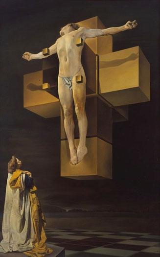 salvador-dali-crucifixion