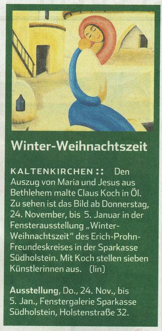 Hamburger Abendblatt 23.11.2016