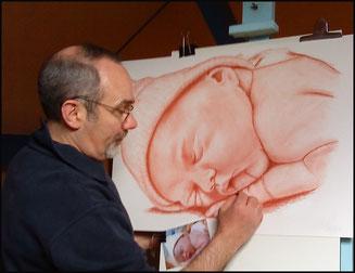 Portrait-d-apres-photo-crayon-fusain
