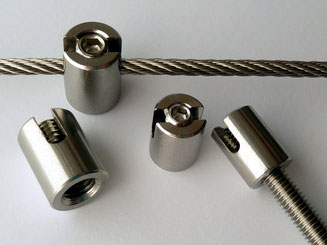 Terminal stopper slotted KL2