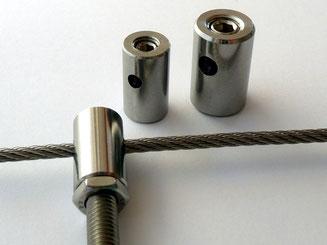 Tetminal Stopper / Newel clip KL1