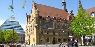 Rathaus Ulm und Stadtbibliothek