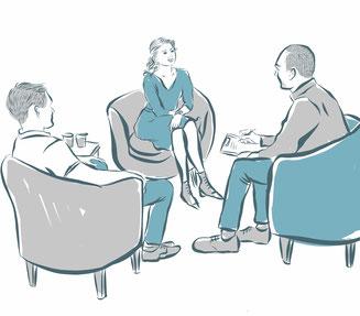 Elternberatung vor einvernehmlicher Scheidung § 95 AußStrG Linz Land Freistadt Perg Urfahr