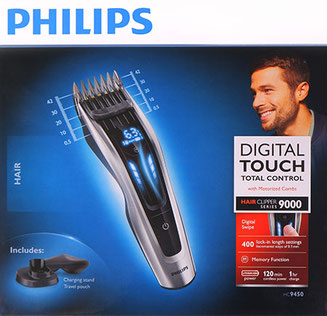 Philips HC 9450, Philips Digital Touch
