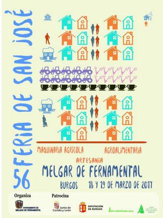 Programa de la Feria de Melgar de Fernamental