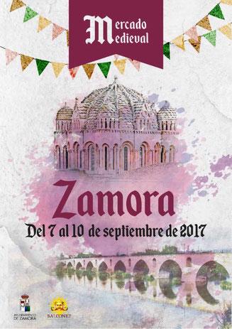 Programa del Mercado Medieval de Zamora