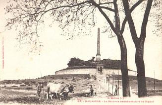 La colonne commémorative de Riquet de Riquet. Photo Labouche frères, Toulouse. L'Au-de (1), n°32