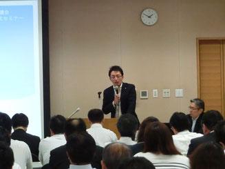 茨城県 前田課長による講演