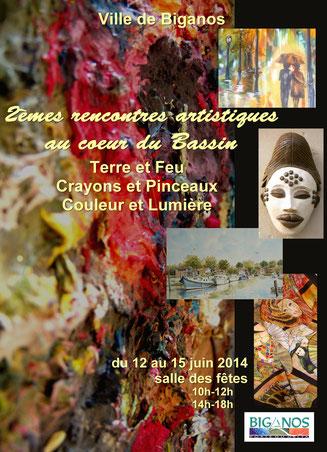 prochaine expo du 12 au 15 juin 2014