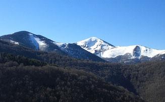 Montes de Ezcaray donde se encuentran las colmenas