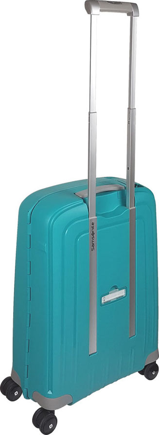 Samsonite S'Cure Spinner aqua blue, Samsonite S'Cure Spinner Test