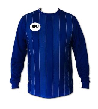 Fußball Trikot blau