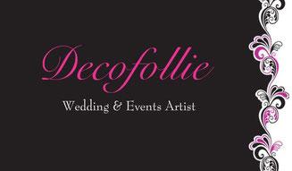 Decofollie wedding & Event artist, creazioni artigianali per nozze ed eventi