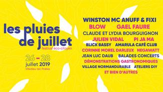 Programme festival Les Pluies de Juillet