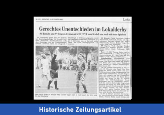Historische Zeitungsberichte