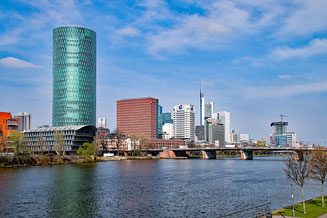 View from the River Frankfurt