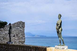 Statues by Germaine Richier Antibes