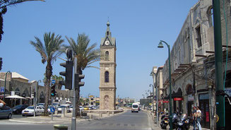 Jaffa Clock Tower Tel Aviv