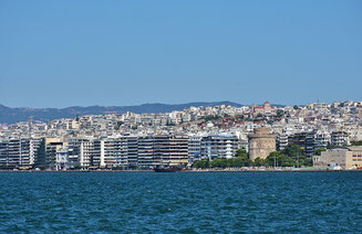 View from the Sea Thessaloniki