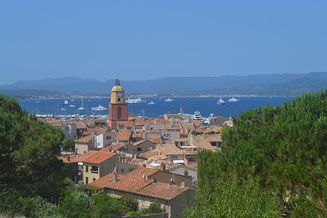 Roofs of the City Saint-Tropez