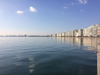 Thessaloniki Boardwalk