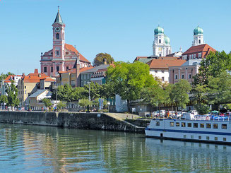 View from the River Passau