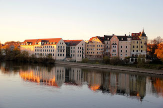 View from the River Regensburg