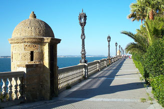Cadiz Embankment Spain