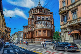 Church of Holy Mary of Grace Milan