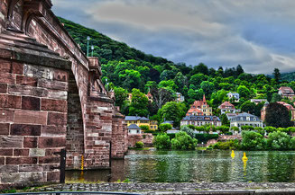 View from the River Heidelberg