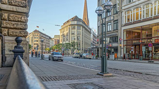 On the Streets of Hamburg Germany