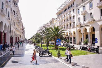 Streets of Thessaloniki