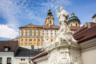 View on the Abbey Melk