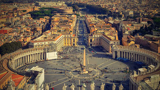 St Peter square Rome