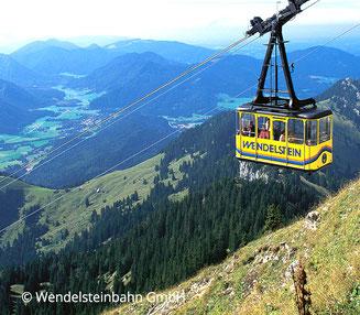 Wendelsteinbahn, Webseite Gasthof Falkenstein Flintsbach