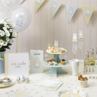 bapteme-theme-lapin-miffy-decoration-de-table-bapteme-miffy