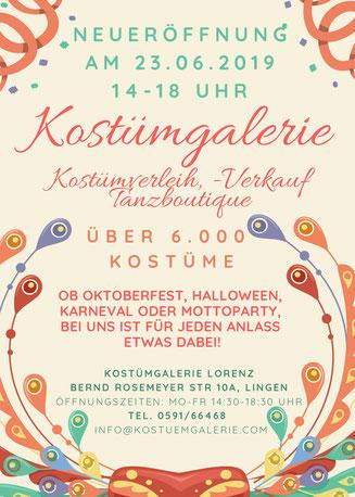 Kostümverleih Kostüme Verkleiden Karneval Halloween Weihnachten Oktoberfest Dirndl Mottoparty