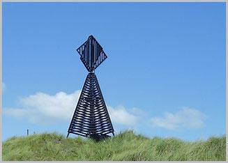 Westbake auf Baltrum  (Seezeichen)