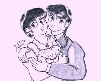 春菜と健太郎