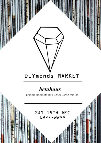 DIYmonds Market at betahouse in Berlin