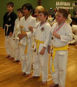 Nachwuchsmeisterschaft in Ismaning 2009 - TOWASAN Karate Schule München