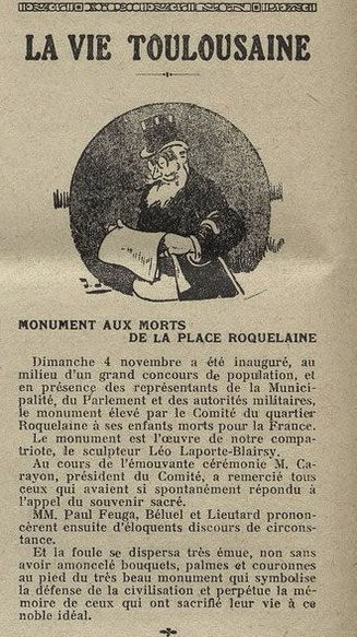Le CRi de Toulouse 17 novembre 1923